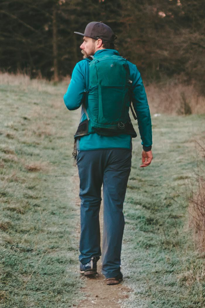 FALL HIKING OUTFIT MEN
