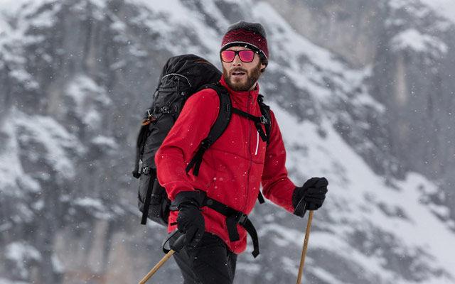 Männer Bergsport