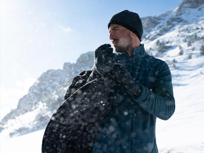 Mood image SNOW HIKING OUTFIT MEN
