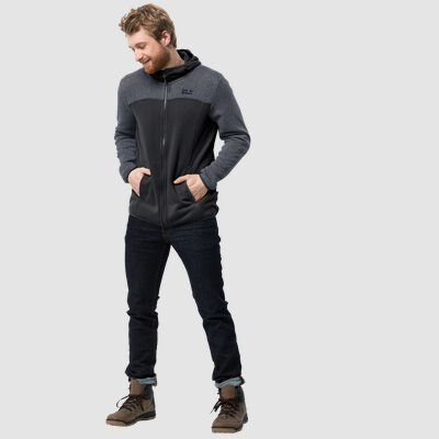 ELK HOODED JACKET MEN