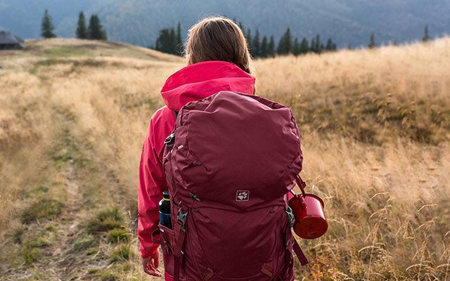 Frauen Trekking