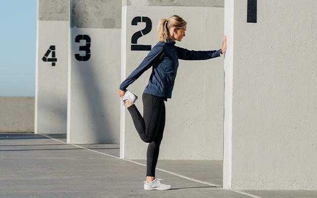 Frauen Outdoor Fitness