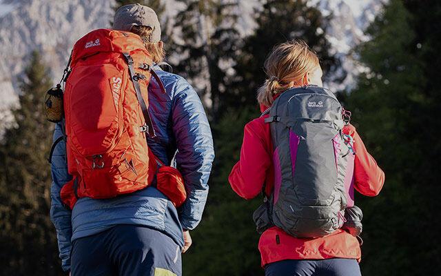 Ausrüstung Backpacking