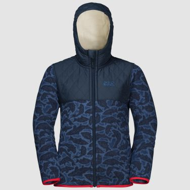 NORDIC HOODED JACKET KIDS
