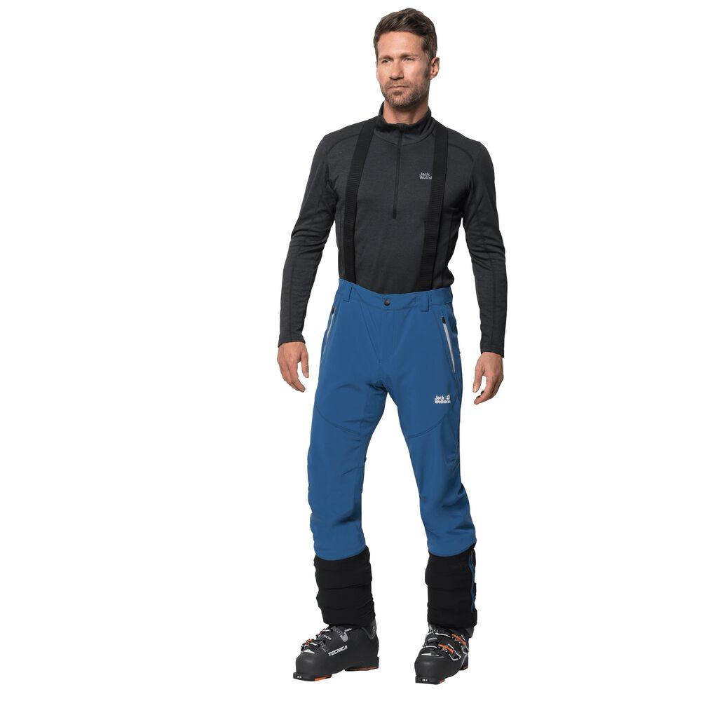 Jack Wolfskin Softshellhose Männer Gravity Tour Pants Men 94 blau | Sportbekleidung > Sporthosen > Softshellhosen | Jack Wolfskin