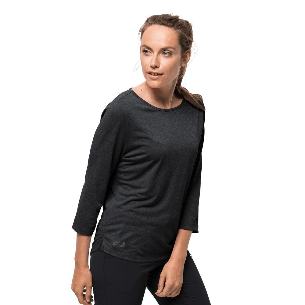 Jack Wolfskin Funktionsshirt Frauen JWP T-Shirt Women L phantom | Bekleidung > Shirts > Funktionsshirts | Jack Wolfskin