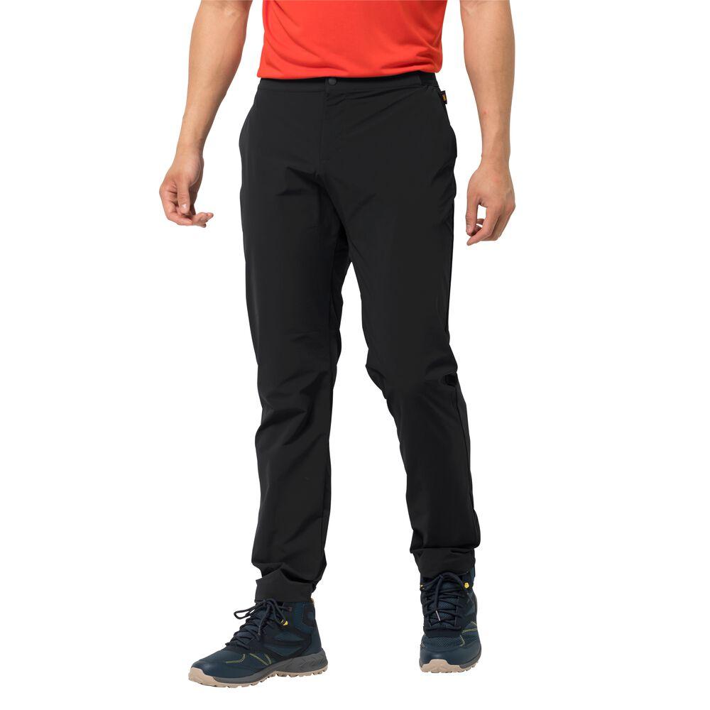 Jack Wolfskin Softshellhose Männer JWP Pant Men XXL schwarz black | Sportbekleidung > Sporthosen > Softshellhosen | Jack Wolfskin
