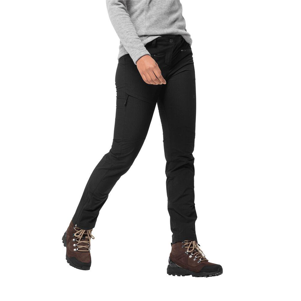 Jack Wolfskin Softshellhose Frauen Activate SKY Extended Version Pants Women 80 schwarz   Sportbekleidung > Sporthosen > Softshellhosen   Black   Jack Wolfskin