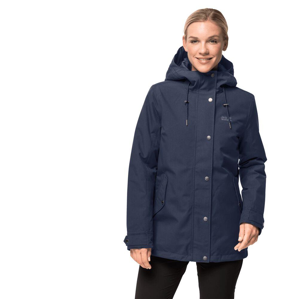 Jack Wolfskin Winter-Hardshell Frauen Mora Jacket S blau | Bekleidung > Jacken > Winterjacken | Jack Wolfskin