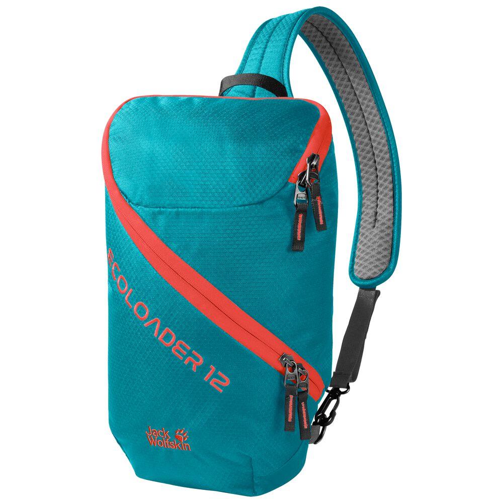 Jack Wolfskin Ecoloader 12 Bags Nachhaltige Slingbag one size blau dark cyan | Taschen > Rucksäcke > Tagesrucksäcke | Jack Wolfskin