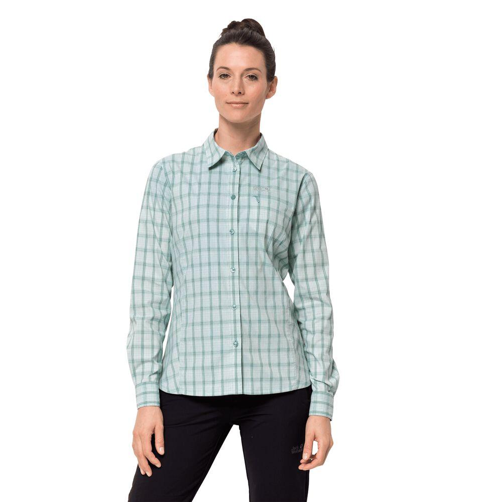 Jack Wolfskin Funktions-Bluse Frauen Centaura Flex Shirt Women XXL grün | Bekleidung > Blusen > Funktionsblusen | Jack Wolfskin