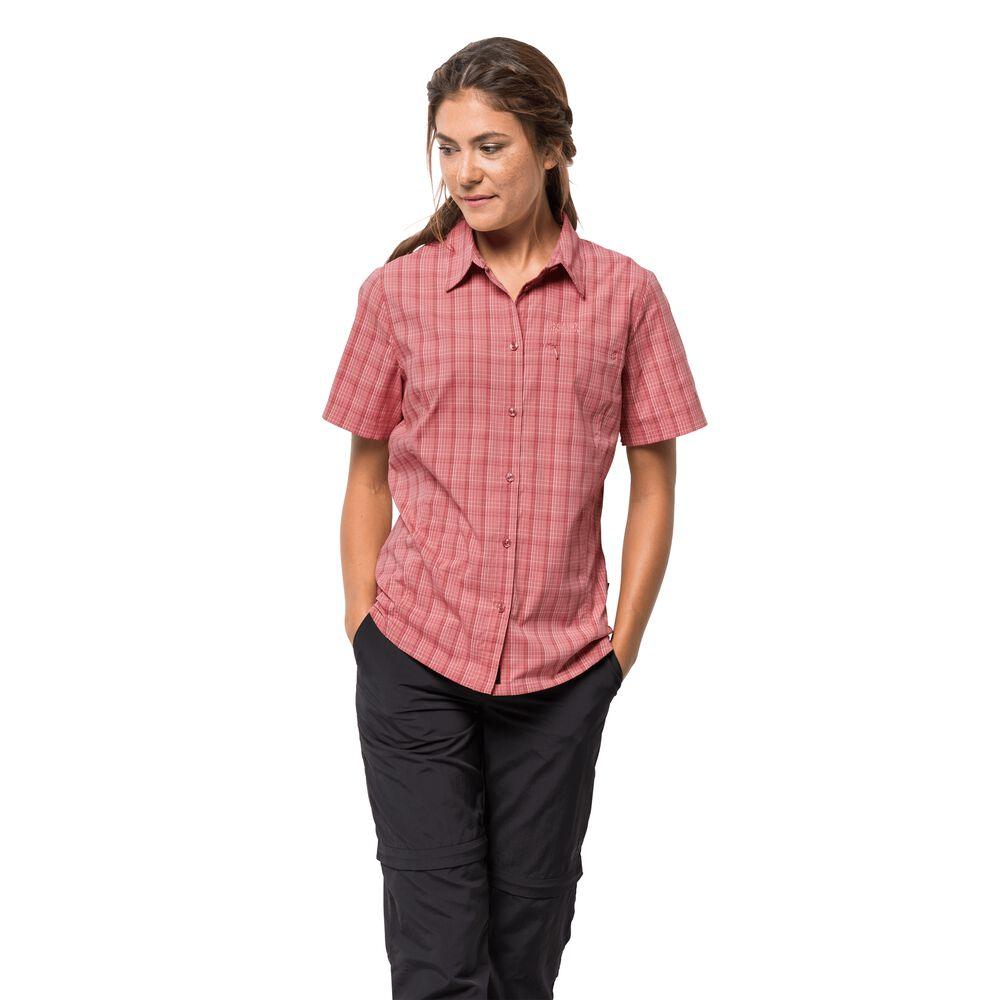 Jack Wolfskin Funktions-Bluse Frauen Centaura Shirt Women XS violett | Bekleidung > Blusen > Funktionsblusen | Jack Wolfskin