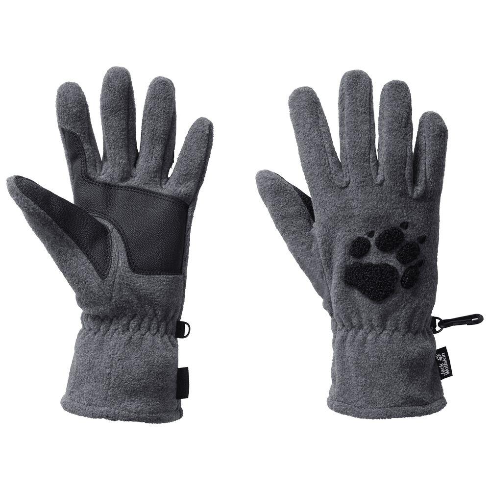 Jack Wolfskin Fleece-Handschuhe Paw Gloves M grau   Accessoires > Handschuhe > Fleecehandschuhe   Jack Wolfskin