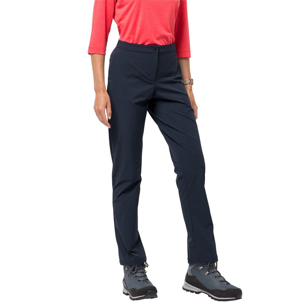 Jack Wolfskin Softshellhose Frauen JWP Pant Women M blau night blue | Sportbekleidung > Sporthosen > Softshellhosen | Jack Wolfskin