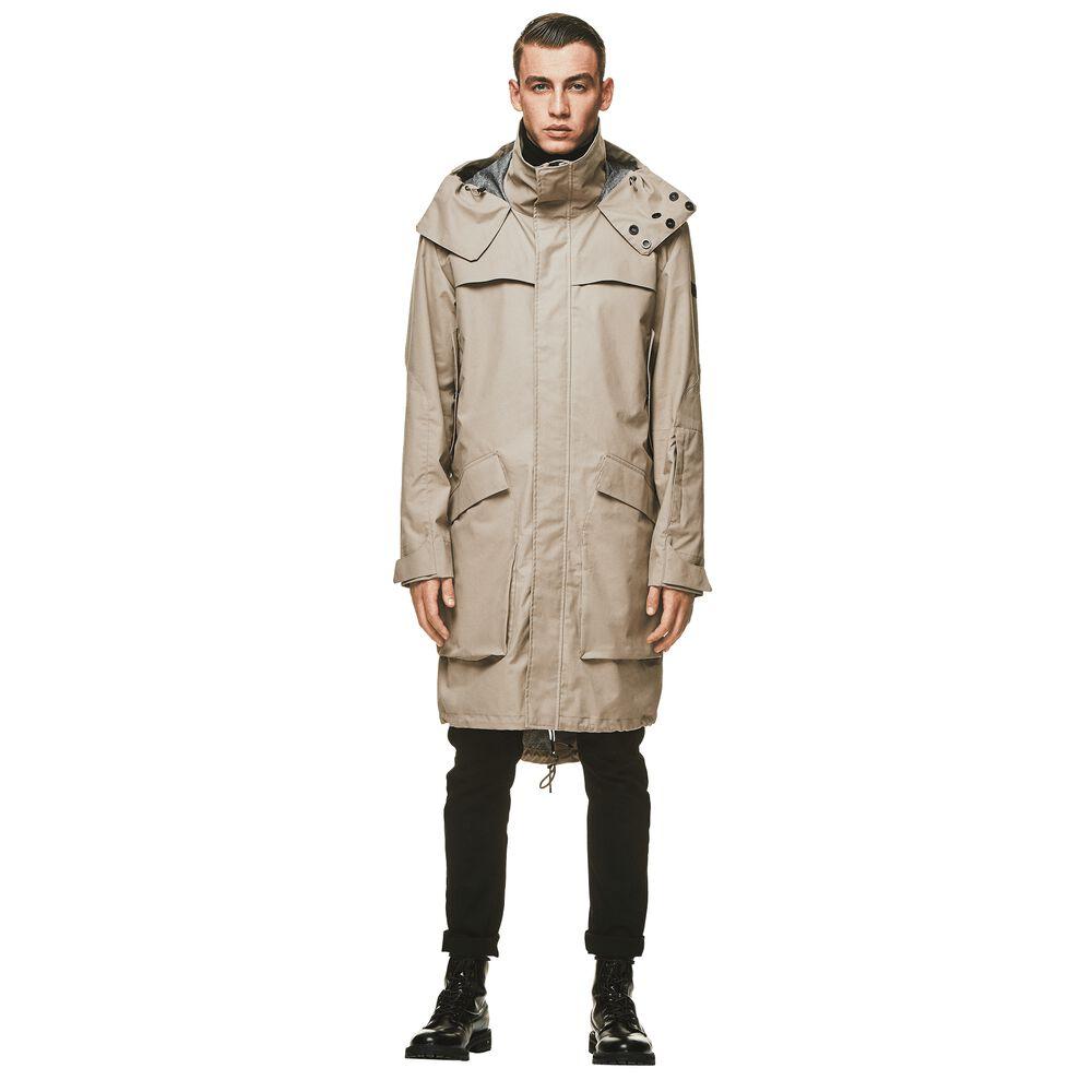 Jack Wolfskin Männer Parka Helsinki Coat Men XXL grau