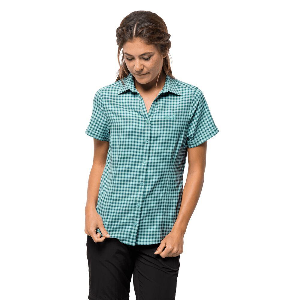 Jack Wolfskin Bluse Frauen Kepler Shirt Women M grün