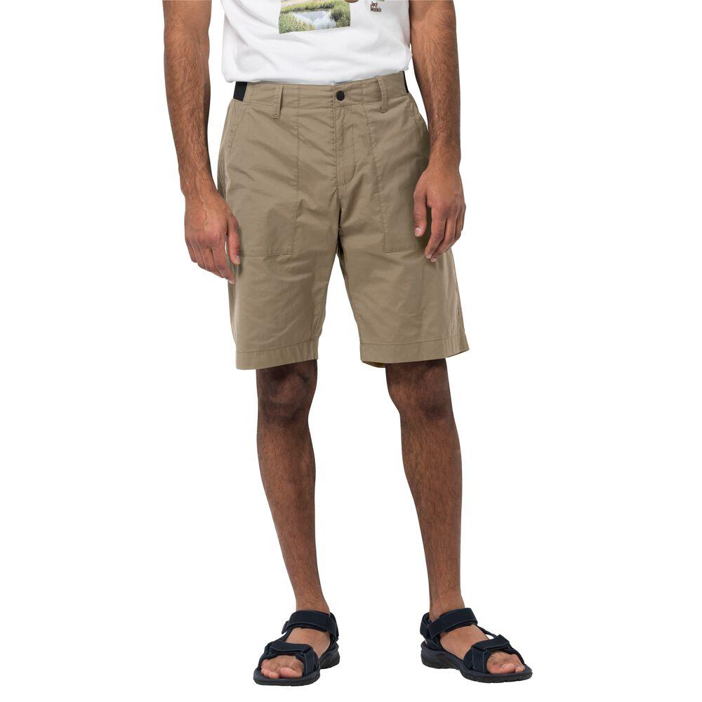 Jack Wolfskin Freizeitshorts Männer Tanami Short Men 58 braun sand dune
