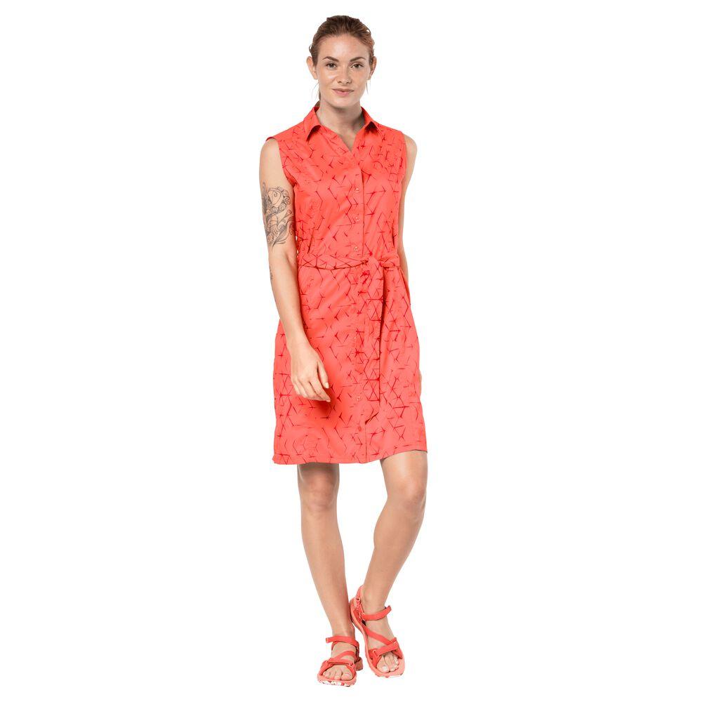 Jack Wolfskin  Kleid Sonora Shibori Dress  rot | 04055001784738