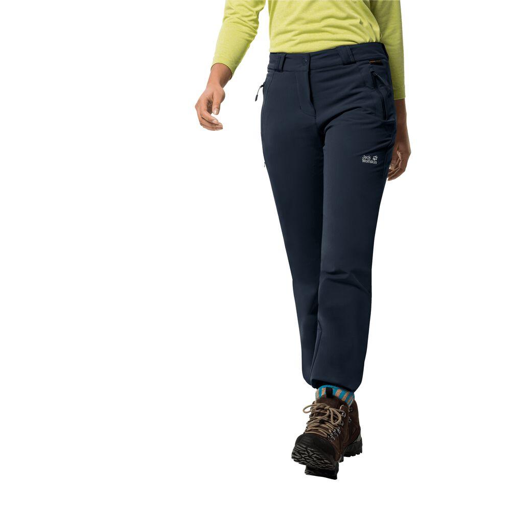 Jack Wolfskin Softshellhose Frauen Activate Thermic Pants Women 40 blau   Sportbekleidung > Sporthosen > Softshellhosen   Blue   Jack Wolfskin