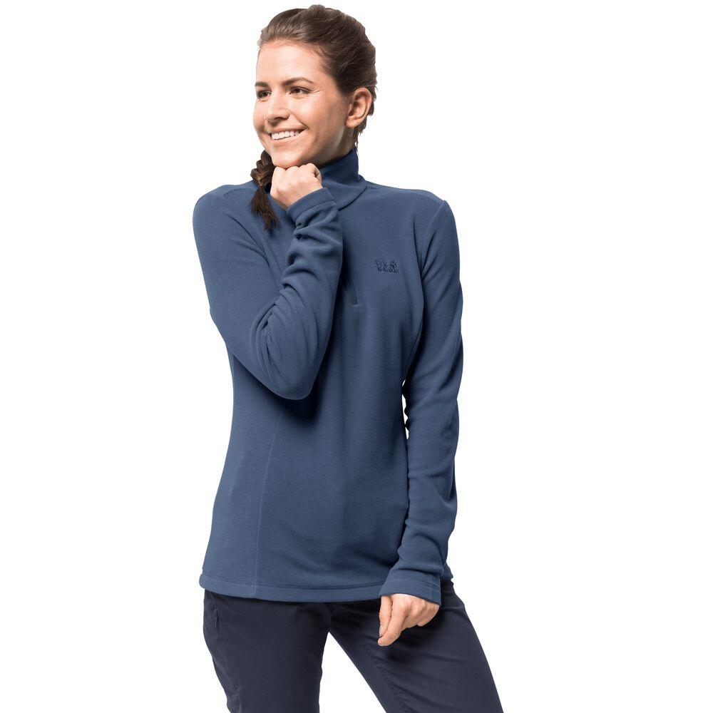 Jack Wolfskin Fleecepullover Frauen Arco Women XL blau | Sportbekleidung > Fleecepullover | Blue | Jack Wolfskin
