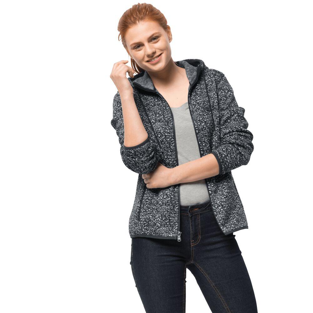Jack Wolfskin Fleecejacke Frauen Belleville Jacket XL grau