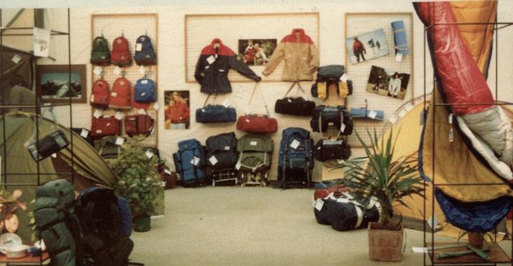 Ein altes Bild von einem Jack Wolfskin Store