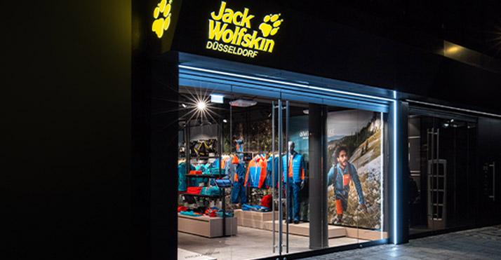 Jack Wolfskin Store in Düsseldorf